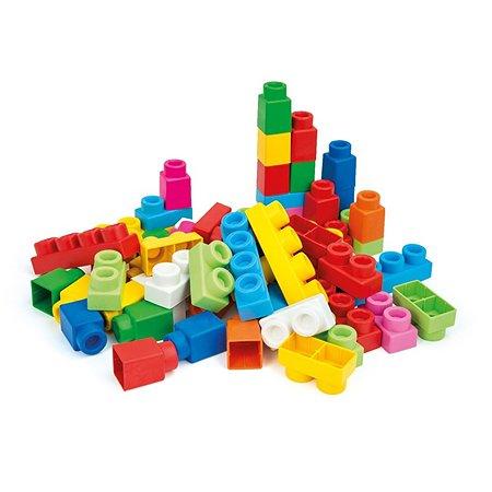 Конструктор Clementoni Клемми Плюс 60 мягких кубиков в сумке