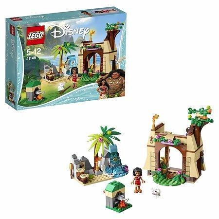 Конструктор LEGO Disney Princess Приключения Моаны на затерянном острове (41149)