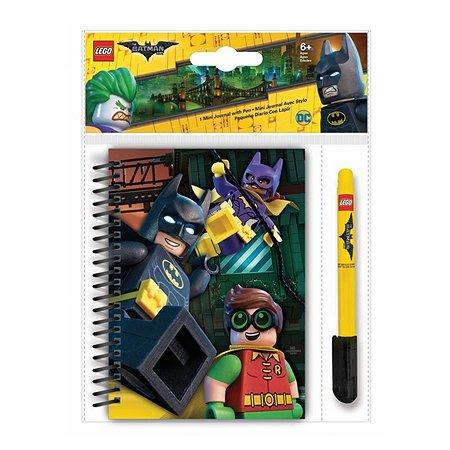 Набор LEGO блокнот 100 лист линейка гелевая ручка