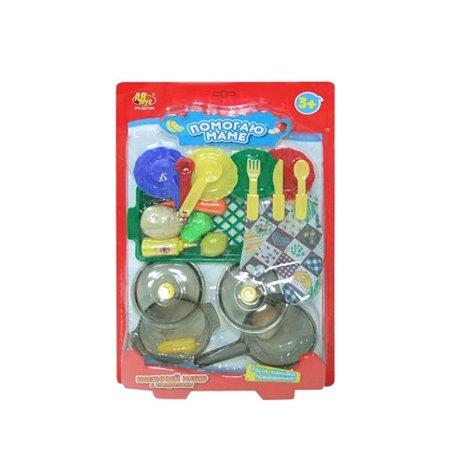 Набор Abtoys кухонный с продуктами 22 предмета