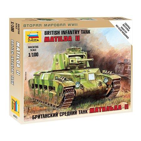 Модель для сборки Звезда Британский средний танк Матильда-2