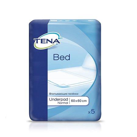 Простыни впитывающие Tena Bed Normal 60*60см 5шт 770056