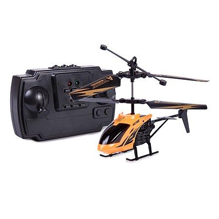Вертолет на радиоуправлении Mobicaro Неон 2 канала 15 см Оранжевый