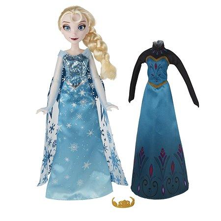 Кукла Disney Frozen Холодное Сердце со сменным нарядом Эльза