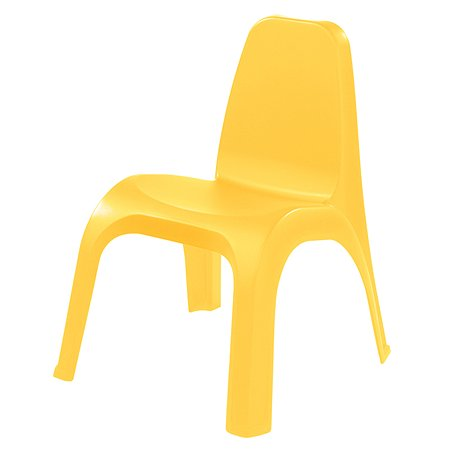 Стул детский Пластишка желтый