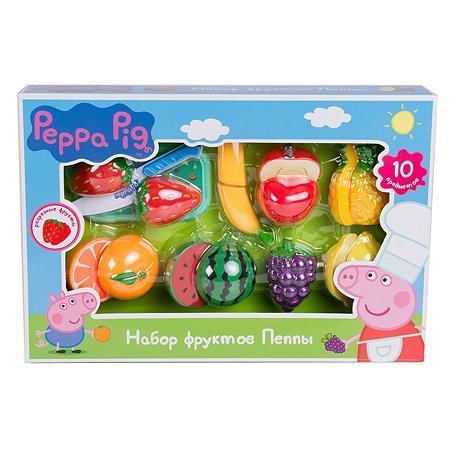 Набор Свинка Пеппа фруктов 10 предметов
