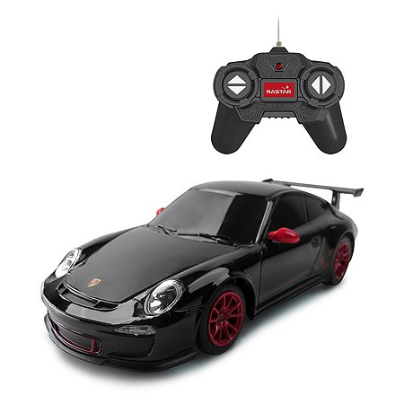 Машина Rastar РУ 1:24 Porsche GT3 RS Черная 39900-1