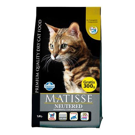 Корм влажный для кошек Farmina Матисс 1.5кг стерилизованных