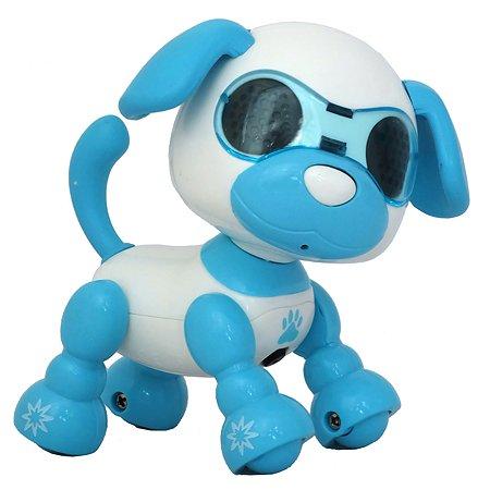 Игрушка HK Industries Щенок интерактивный Голубой A-D-001B