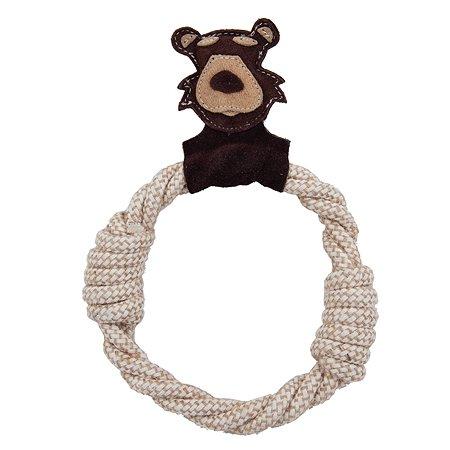 Игрушка для собак Ankur Медведь-кольцо AEPT-13
