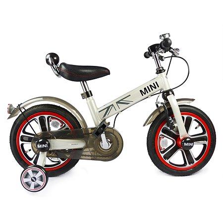 "Велосипед Rastar Mini Cooper 14"" Белый"