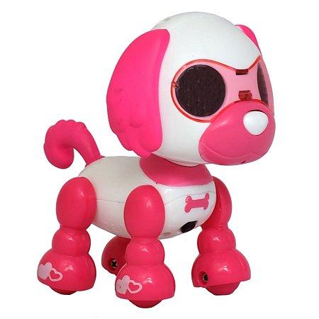 Игрушка HK Industries Щенок интерактивный Розовый A-D-001R