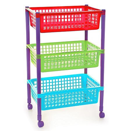Контейнер для игрушек Полимербыт на колесах 4336000