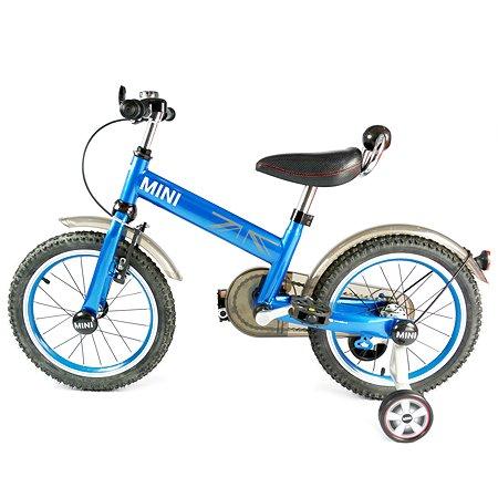 """Велосипед Rastar Mini Cooper 16"""" Синий"""