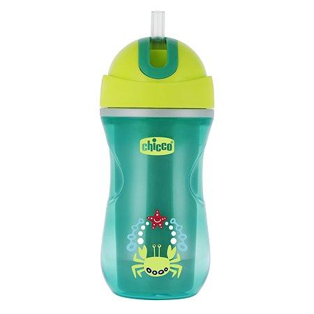 Чашка-поильник Chicco Sport Cup 266 мл с 14 месяцев Зеленый