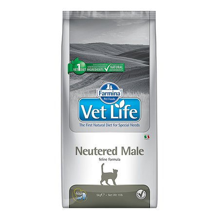 Корм для кошек Farmina VetLife стерилизованных 10кг