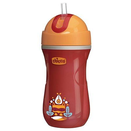 Чашка-поильник Chicco Sport Cup 266 мл с 14 месяцев Красный