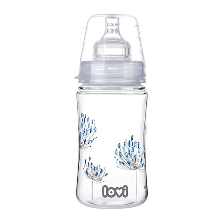 Бутылочка LOVI Trends Botanic 240мл c 3месяцев 510010007