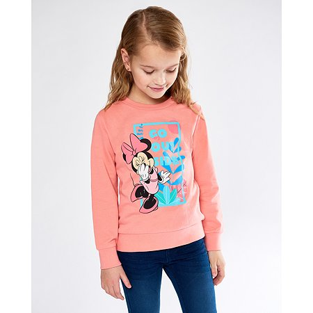 Толстовка Minnie Mouse коралловая
