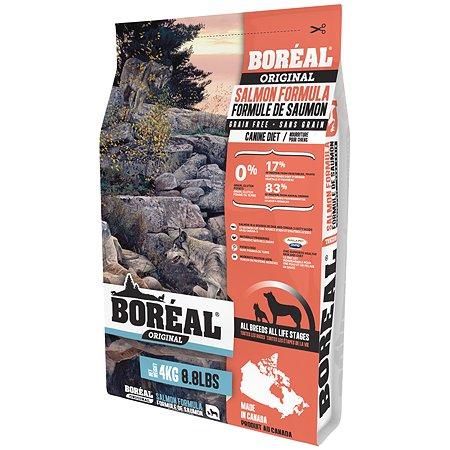Корм для собак Boreal Original с лососем 4кг