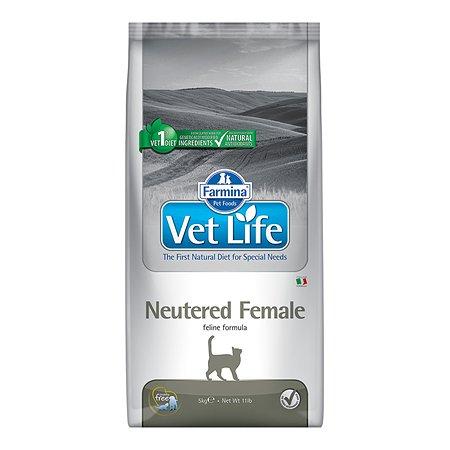 Корм для кошек Farmina VetLife стерилизованных 5кг 5070