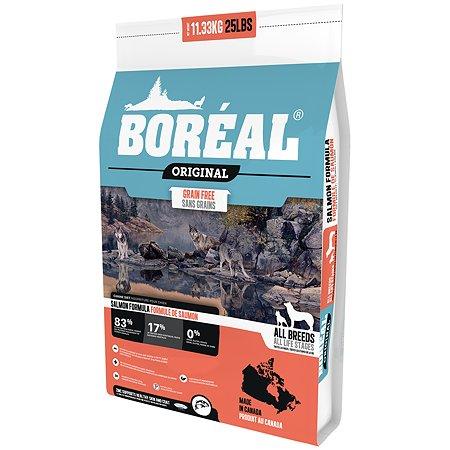 Корм для собак Boreal Original с лососем 11.33кг