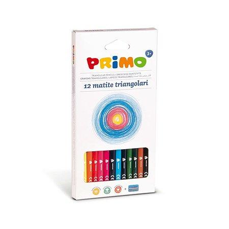 Карандаши цветные Primo треугольные