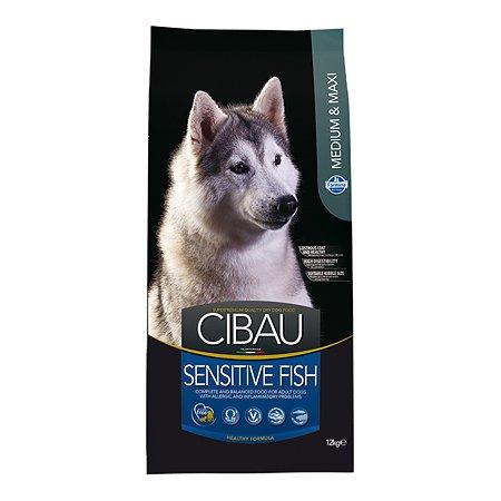Корм для собак Farmina Сибау сенситив средних и крупных пород рыба 12кг