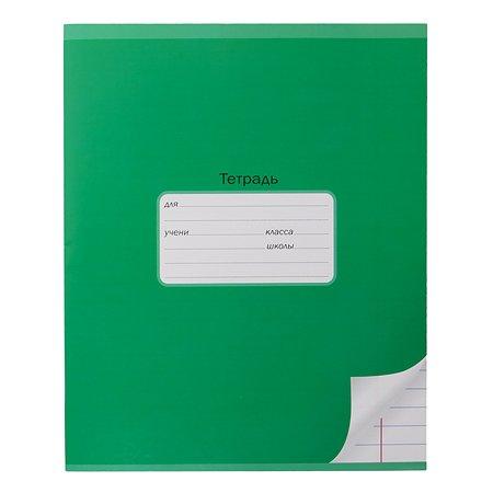 Тетрадь школьная Мировые тетради А5 Линия 18л Зеленый ТШ18K6640