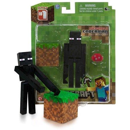 Набор фигурок Minecraft Странник Края 3 предм. 14х17см