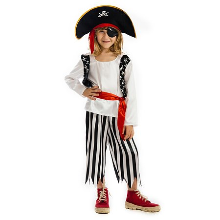 Костюм карнавальный Карнавалия Пират 3-5лет 85227