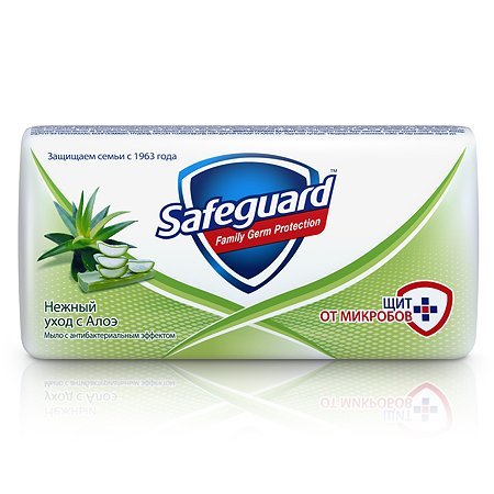 Мыло Safeguard туалетное Алоэ 90г