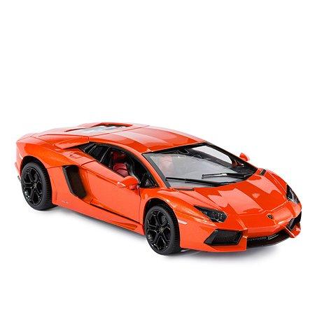 Машинка Rastar Lamborghini LP700 1:18 оранжевая