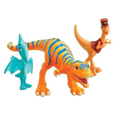 Динозавры Поезд динозавров Долорес, Кондуктор, Шайни