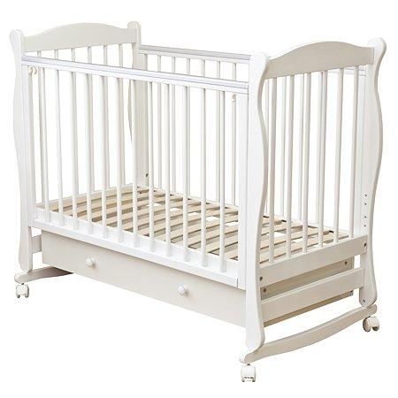 Кровать детская Красная Звезда (Можга) Уралочка белый