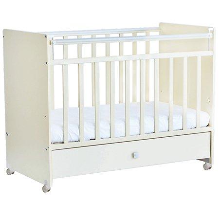 Кроватка Фея 700 детская Белый 1073 9