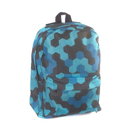 Рюкзак 3D-Bags Мозаика синяя цвет мульти