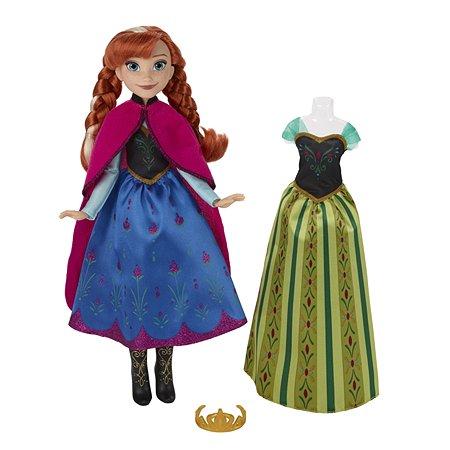 Кукла Disney Frozen Холодное Сердце со сменным нарядом Анна