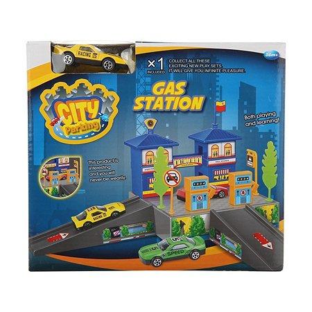 Заправочная станция Dave Toy с 1 машинкой