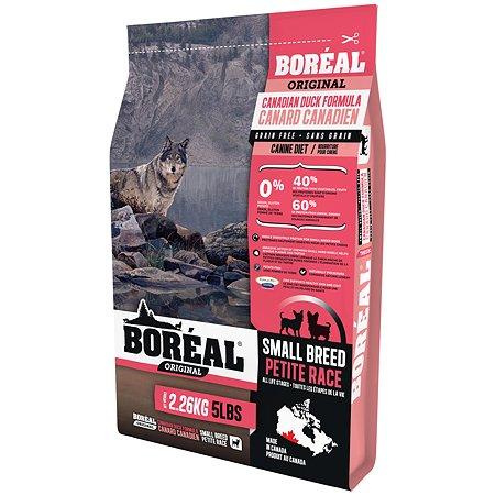Корм для собак Boreal Original мелких пород с уткой 2.26кг