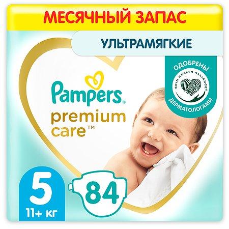 Подгузники Pampers Premium Care 5 11+кг 84шт