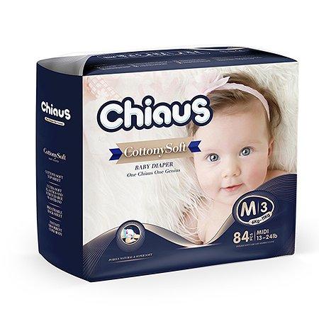 Подгузники Chiaus Cottony Soft M (6-11 кг) 84 шт