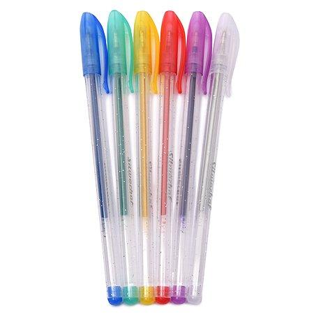 Ручки Silwerhof Цветландия гелевые 6 цветов