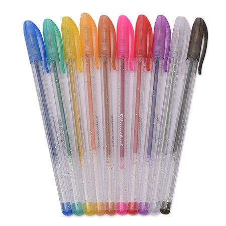 Ручки Silwerhof Цветландия гелевые 10 цветов