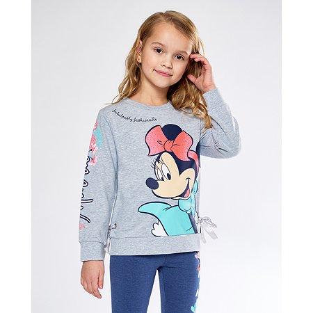 Толстовка Minnie Mouse серая