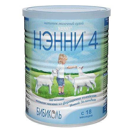 Напиток Бибиколь 4 на основе козьего молока 400г с 18 месяцев