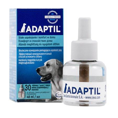 Феромоны для собак Adaptil для коррекции поведения сменный блок 48мл