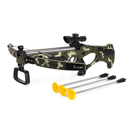 Игрушка ABC Тактический арбалет 3стрелы YJ188180996