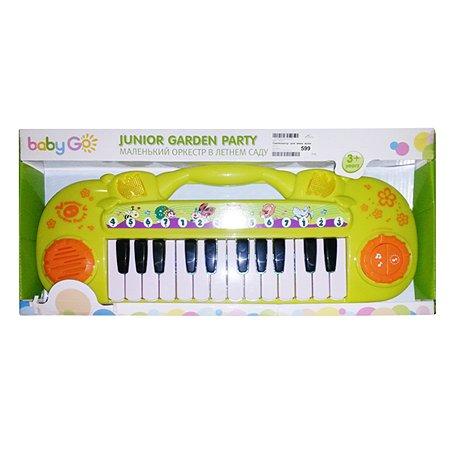 Синтезатор детский Baby Go Маленький оркестр в летнем саду