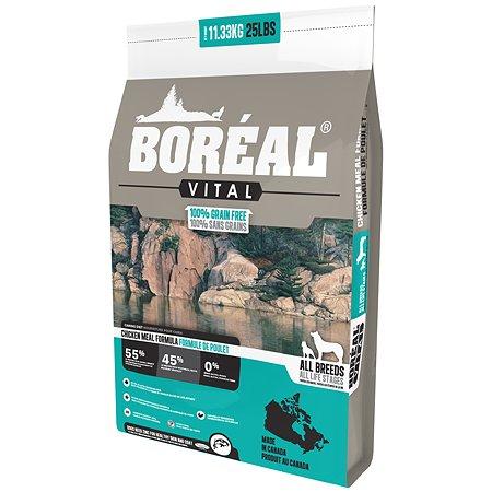 Корм для собак Boreal Vital с курицей 11.33кг
